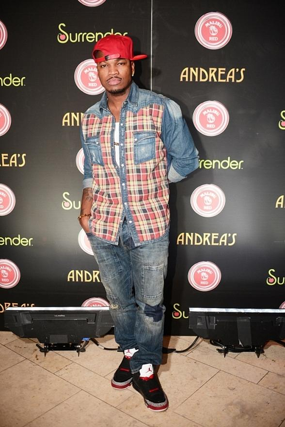 "Ne-Yo Celebrates 31st Birthday at ""Surrender Your Wednesday"" at Surrender Nightclub in Las Vegas"