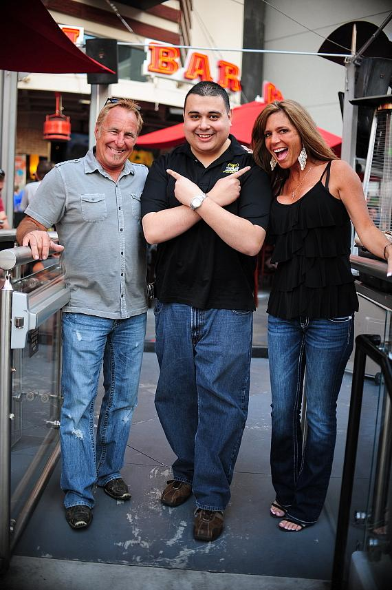 Rick Dale, Robert Blasi and Kelly Dale