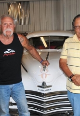 """Paul Senior"" of Orange County Choppers visits Michael Dezer Presents Hollywood Cars Museum"