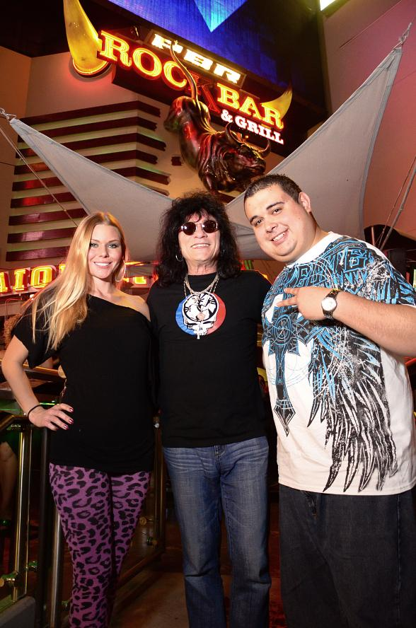 "Christina ""CC"" Christensen, Paul Shortino and Robert Blasi"