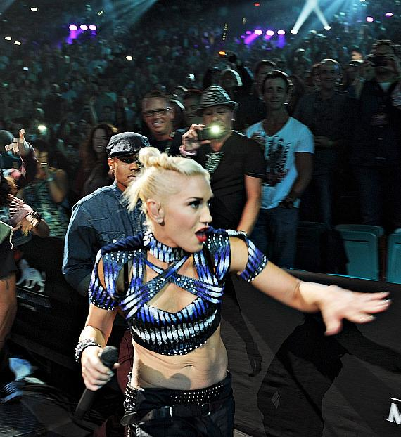 Gwen Stefani at iHeartRadio Music Festival