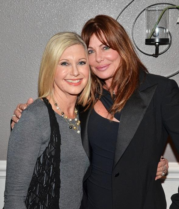 Actress Kelly LeBrock attends Olivia Newton-John's