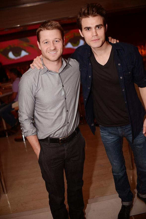 Photo of Ben McKenzie & his friend  Paul Wesley Dine