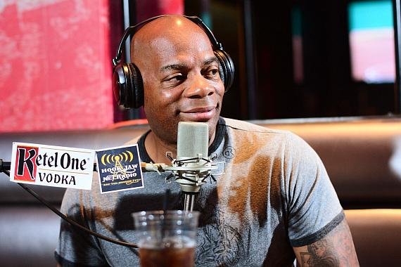 "Alonzo Bodden goes ""On Air with Robert & CC"" at PBR Rock Bar in Las Vegas"