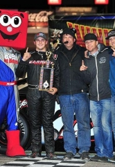 Jeremy Doss Sweeps NASCAR Super Late Models Features at The Bullring in Las Vegas Motor Speedway