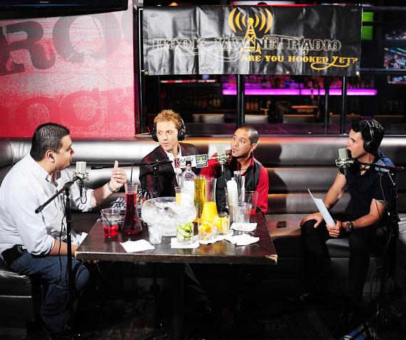 Jarrett & Raja interviewed by Robert Blasi and Frankie Moreno at PBR Rock Bar