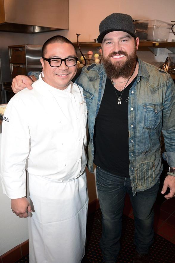 Zac Brown Band Dines at Andrea
