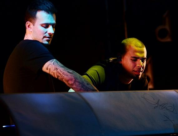 "Dirty South and Afrojack at ""Splash Dance"" at Surrender Nightclub in Las Vegas"