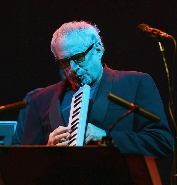 Donald Fagen of Steely Dan performs at The Pearl at Palms Casino Resort