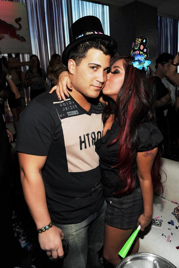 Jersey Shore's Snooki along with her boyfriend Jionni LaValle