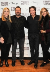 Joel and Victoria Osteen visit Celebrity Impressionist Terry Fator's show at The Mirage