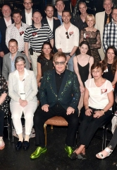 "Billy Elliot London Supporters attend Elton John's ""The Million Dollar Piano"" at The Colosseum at Caesars Palace"