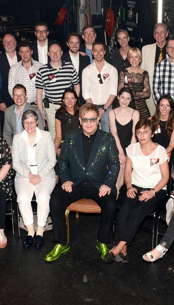 Billy Elliot London Supporters attend Elton John's