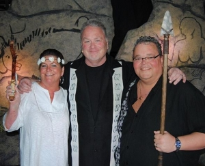Kevin Burke Star of Defending the Caveman Officiates Wedding for Canadian Couple Following Friday Night's Performance at The D Las Vegas