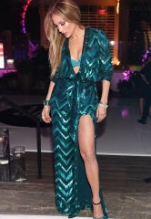Jennifer Lopez's birthday party in the Nobu Villa at Caesars Palace
