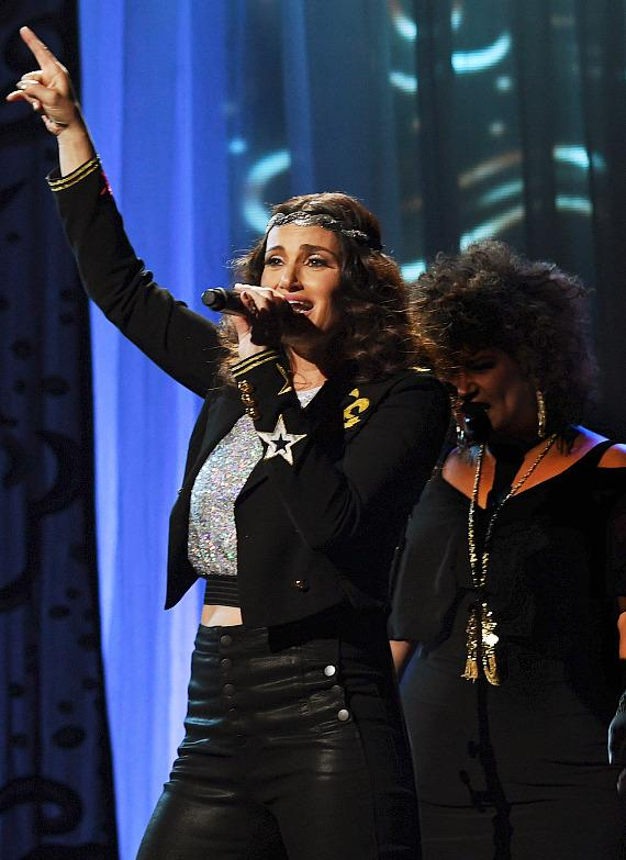 Idina Menzel Dazzles at The Pearl at Palms Casino Resort in Las Vegas