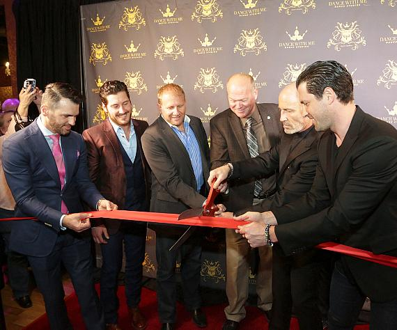 Dance With Me ribbon cutting