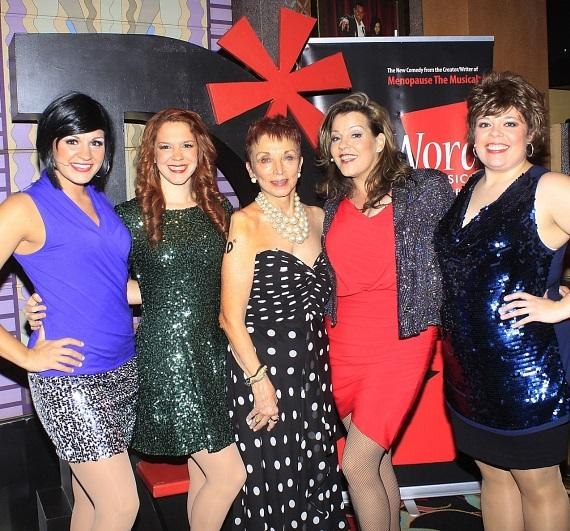 The D*Word-A Musical Cast with show creator, Jeanie Linders