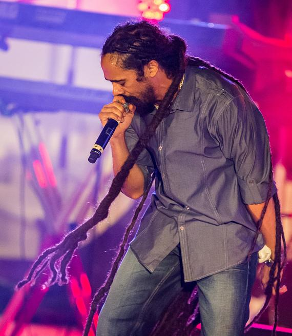 Damian Jr. Gong Marley performs at The Cosmopolitan of Las Vegas