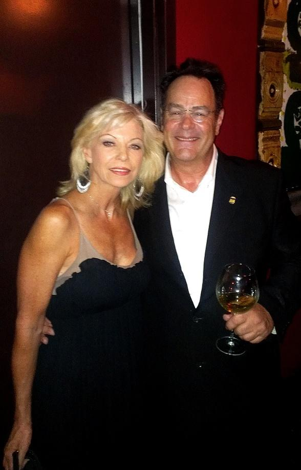 Dan Aykroyd and Marcia Cope-Hart (cast member of Phantom and the director Steve Hart's wife)