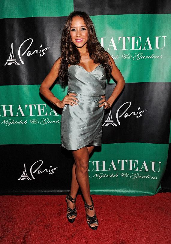 Dania Ramirez poses on the Chateau Nightclub & Gardens red carpet