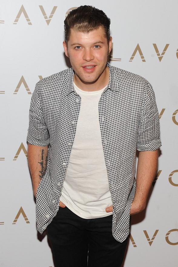 Daniel Merriweather at LAVO red carpet