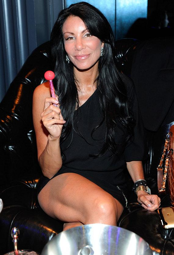 "Danielle Staub inside Chateau Nightclub & Gardens for the pre-premiere party of VH1's ""Famous Food"""