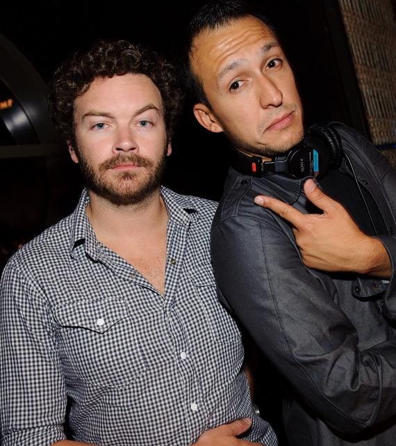 Danny Masterson and DJ Vice at LAVO
