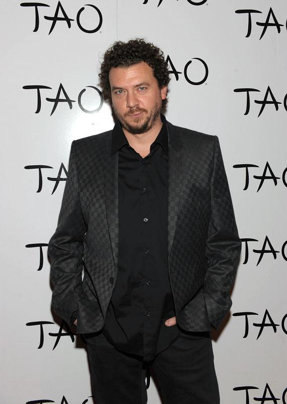 Danny McBride and Jamie Foxx at TAO Asian Bistro and Nightclub