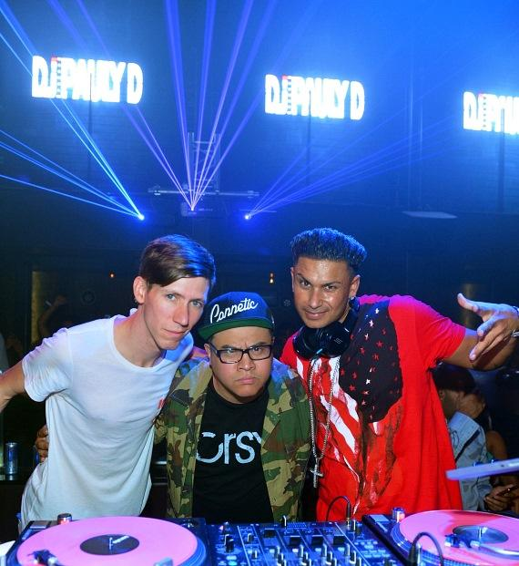 Danny Rockz, DJ E-Rock and Pauly D