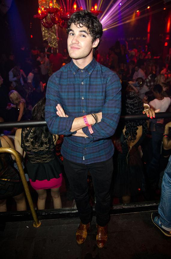 Darren Criss at TAO Nightclub