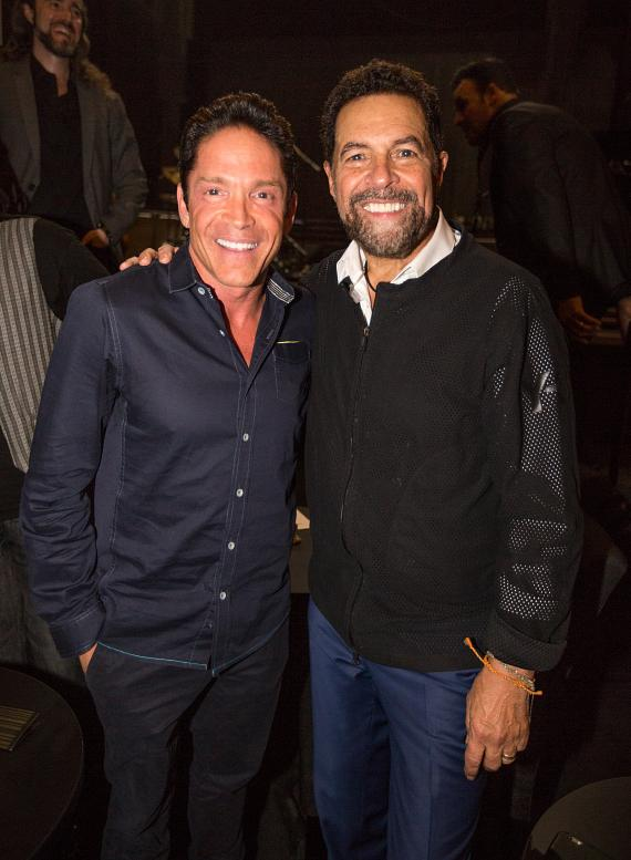 "Special Guest Dave Koz Surprises ""Clint Holmes: Between the Lines"" Audience Members with a Soulful Performance at The Palazzo Las Vegas"