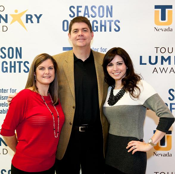 Dave & Mindy Rice pictured with Dr. Nicole Cavenagh (Director of the TUN Center)