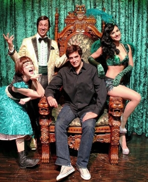 "David Copperfield Attends ""Absinthe"" at Caesars Palace"