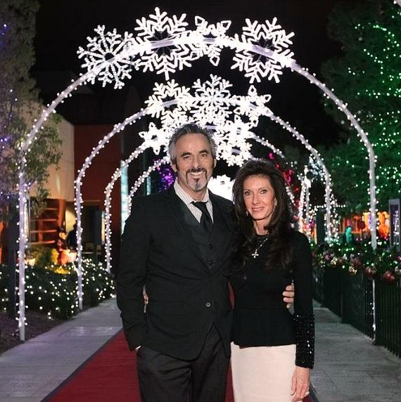 On Nov. 15, golf professional David Feherty and wife Anita took in the sights at Opportunity Village's annual Camelot fundraiser.