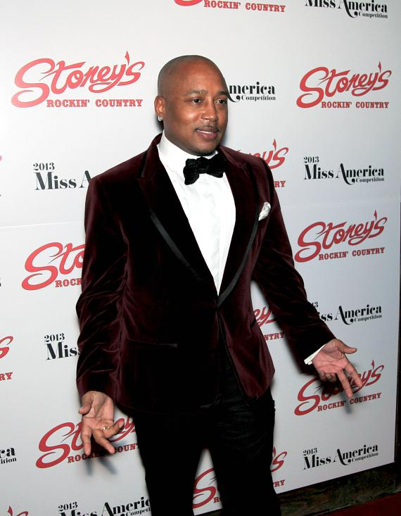 Daymond John at Stoney's Rockin' Country