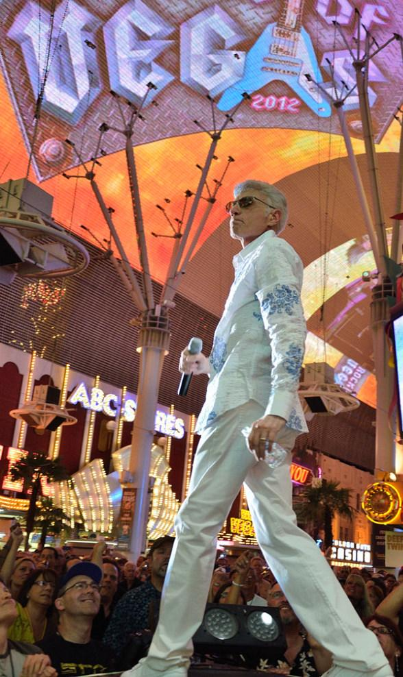 Dennis DeYoung: The Music of Styx performs a free concert at Fremont Street Experience