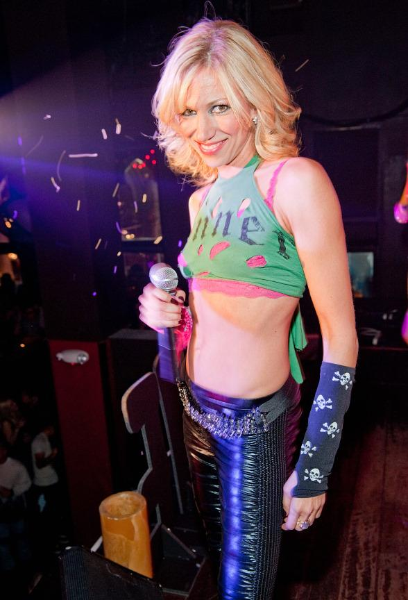 Debbie Gibson performs at TAO