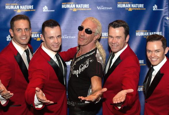 Rock Legend Dee Snider Attends Smokey Robinson Presents Human Nature: The Motown Show at The Venetian Las Vegas