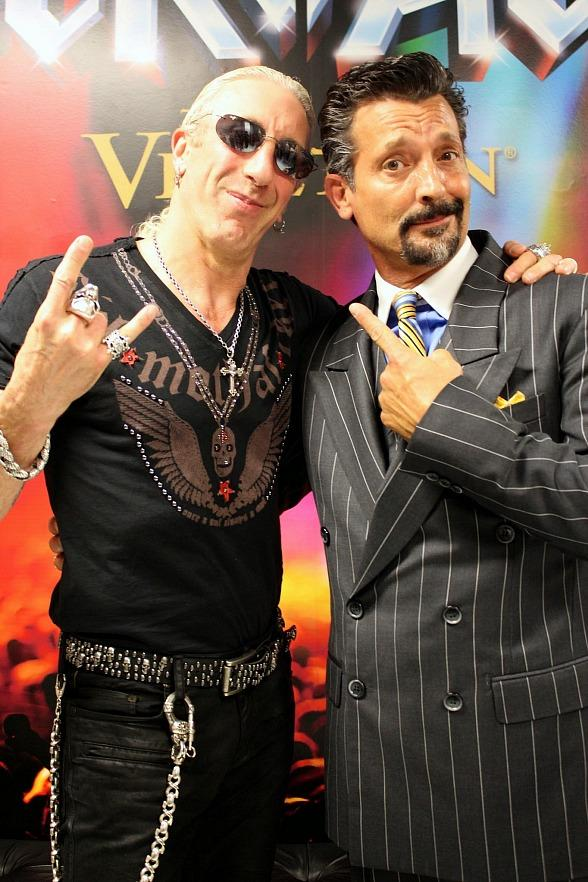 Dee Snider with Bob Torti