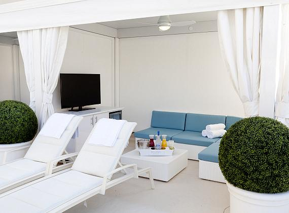 Delano Beach Club Cabana
