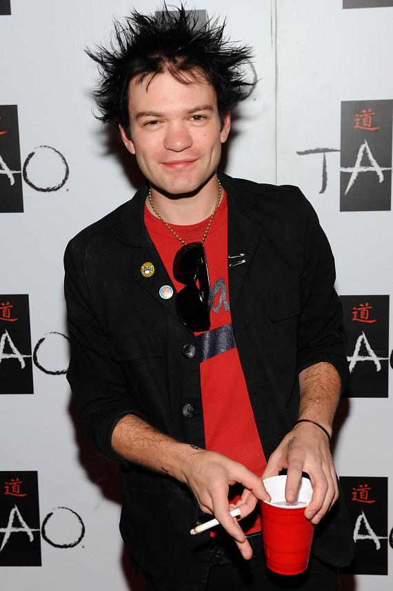 Sum 41's Deryck Whibley Celebrates 30th Birthday at TAO's Worship Thursday
