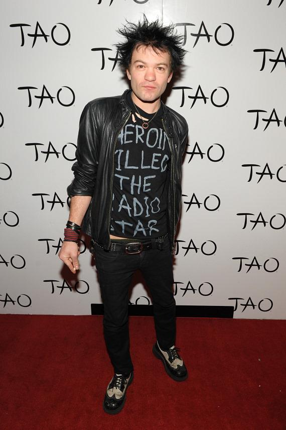 Deryck Whibley's Belated Birthday Celebration at TAO
