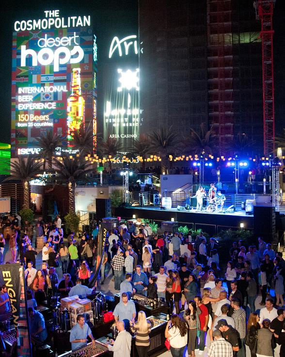 Desert Hops: An International Beer Experience Returns to Boulevard Pool at The Cosmopolitan of Las Vegas