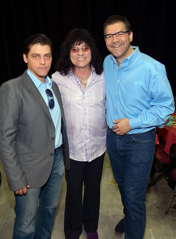 Deven May, Paul Shortino and Las Vegas Sun columnist John Katsilometes at the Animal Foundation's 11th Annual Best In Show