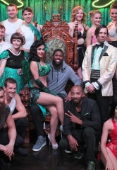 "Chicago Cubs Center Fielder Dexter Fowler Attends ""Absinthe"" at Caesars Palace"