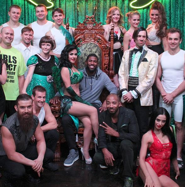 Chicago Cubs Center Fielder Dexter Fowler Attends Absinthe at Caesars Palace