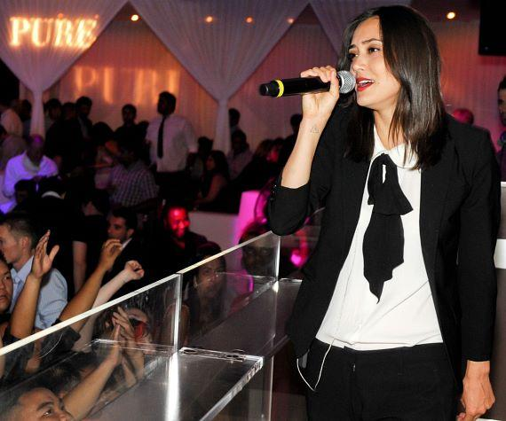 Dia Frampton performs at PURE Nightclub