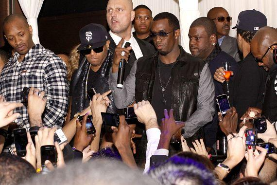 """Sean """"Diddy"""" Combs continues the New Year at PURE Nightclub"""