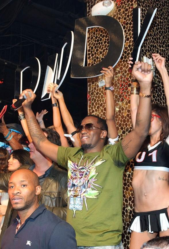 Diddy at TAO